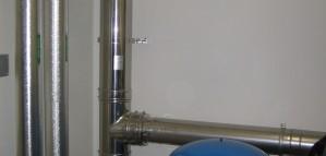 Neuinstallation Heizzentrale